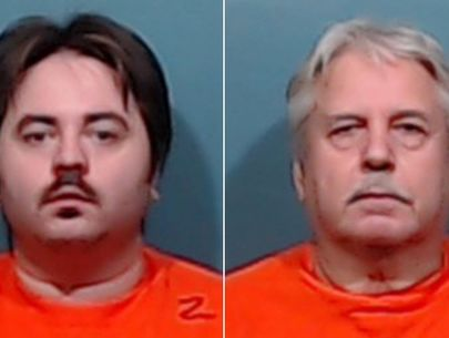 Father, son accused of killing neighbor in dispute over box spring