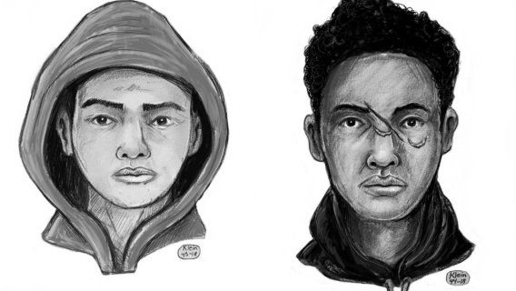 Officials looking for two men accused of posing as police officers during robbery