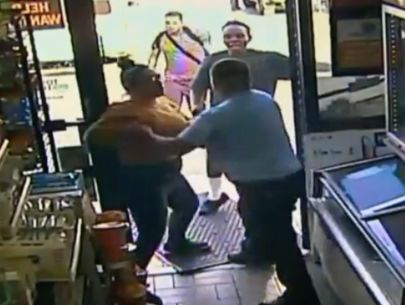 Video: 3 suspects sought after violently assaulting clerk while stealing beer