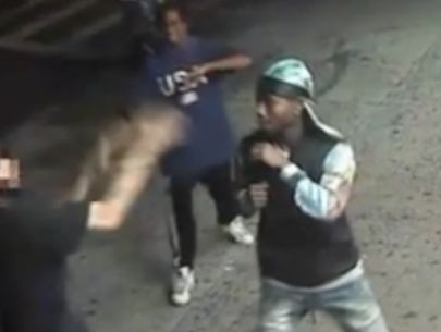 Teens punch woman, 67, in the face; knock out man