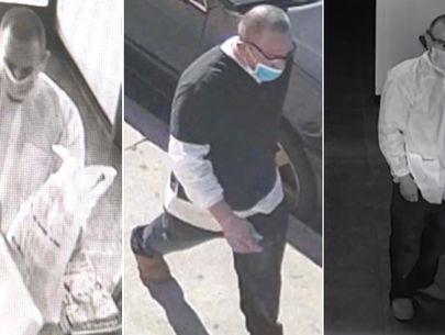 LAPD seeks man who allegedly assaulted dentist with sharp tool during robbery