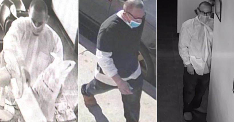 LAPD seeks to ID man who allegedly assaulted dentist with sharp tool while robbing his office in Van Nuys