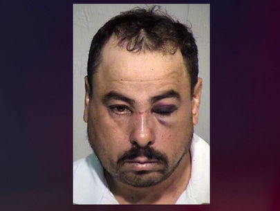 Husband punches out wife's attacker in house, ties him up with belt