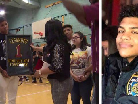 Hoops for Junior: Bronx bodega stabbing victim remembered at basketball game