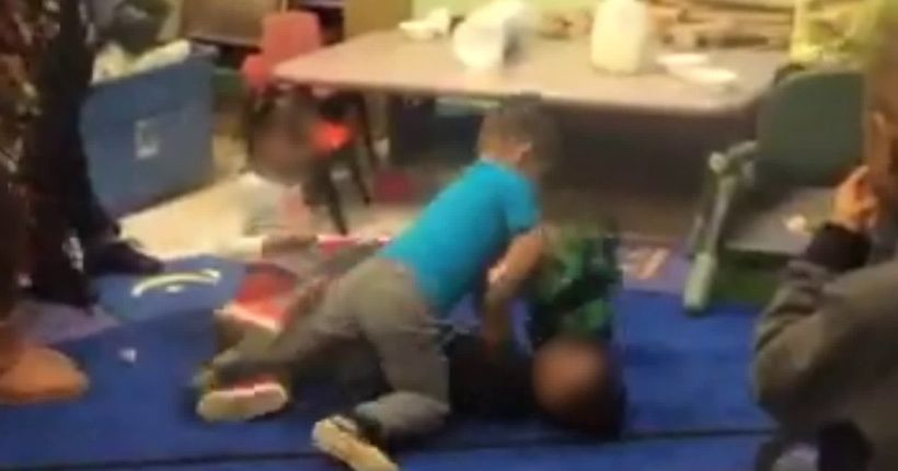 St. Louis day care 'fight club' caught on camera