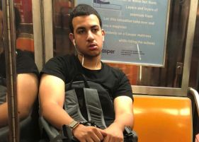 Man accused of performing lewd act on woman in subway arrested
