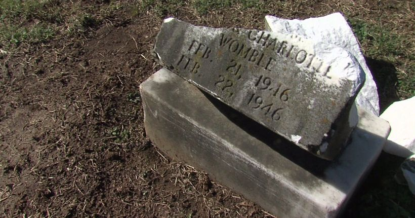 Drunk driver hits tombstones at High Point cemetery