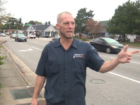 Virginia Beach man's wallet stolen while helping dog hit by car