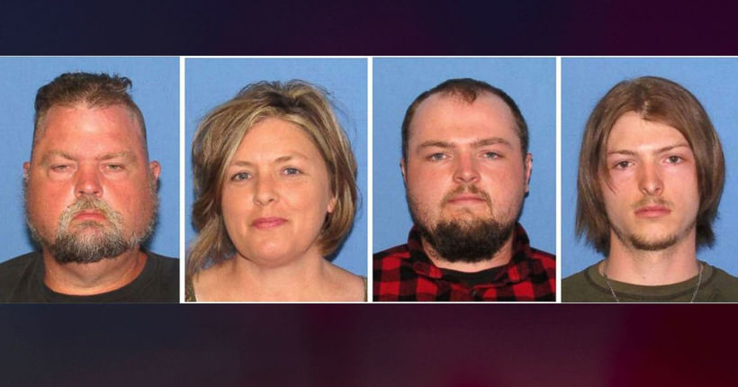 Four family members arrested in 2016 murders of 8 people in Pike County