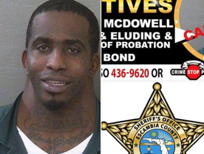 Florida man's eye-grabbing mug shot goes viral on social media