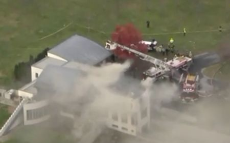 2 children, 2 adults dead in fire at NJ mansion that was intentionally set ablaze