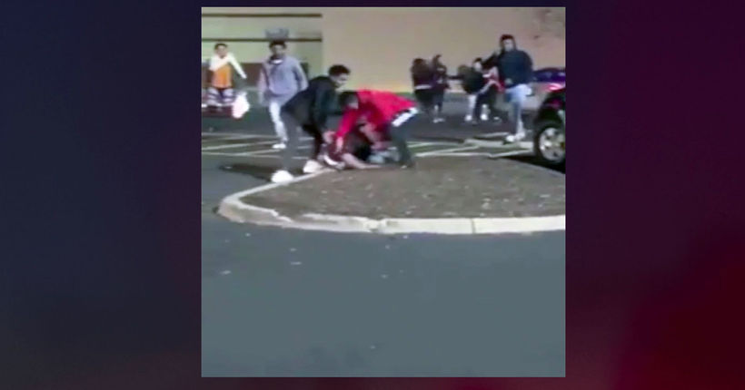 Video shows pregnant woman attacked in mall parking lot on Thanksgiving