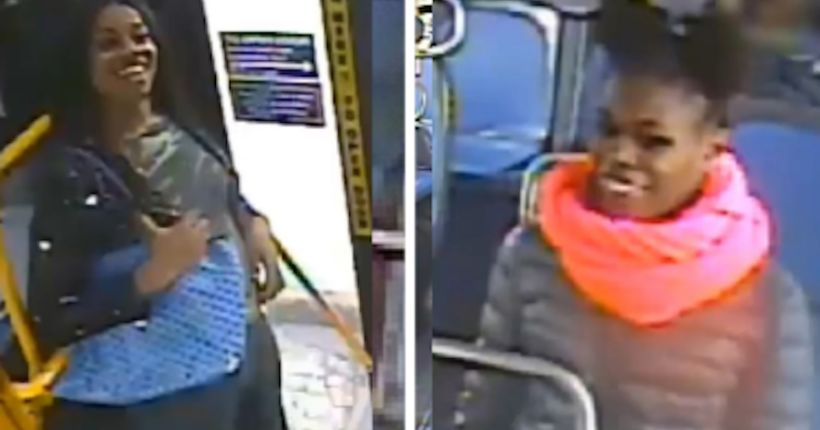 Grinning thieves pour liquid on Bronx bus rider's head, steal her purse
