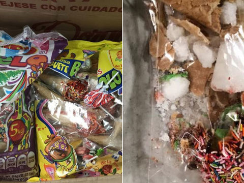 $40K worth of meth found in candy waffle cones in Houston airport