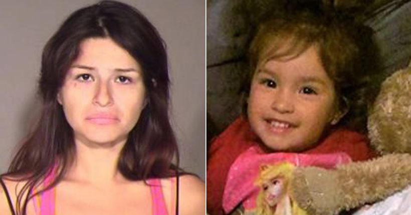 California mother gets life in prison for torture, murder in 3-year-old daughter's death