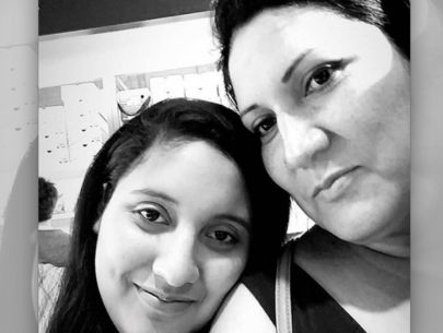Community pleads for capture of suspect in strangulation of mom & daughter