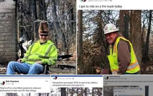 3 workers fired over 'reprehensible' photos from Camp Fire burn zone in NorCal