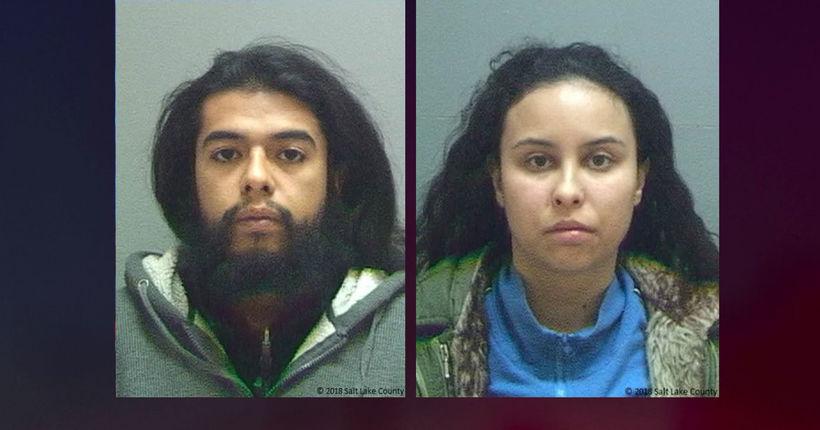 Utah couple arrested for criminal homicide after allegedly running over roommate, killing her