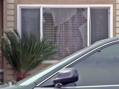 Woman, child barricade selves in bathroom to fend off home invaders