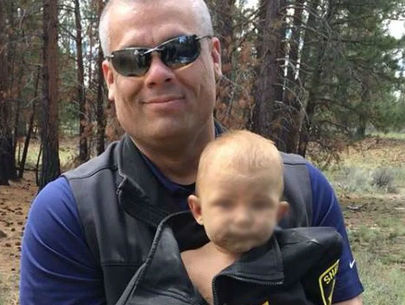 Naked baby abandoned in Oregon woods had broken leg, meth in system