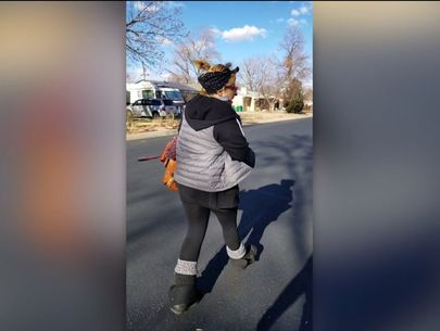 Woman chases down 'porch pirate': 'You [----]ed with the wrong person!'