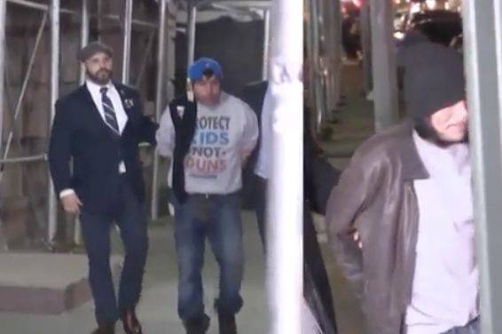 Homeless men face charges for fighting NYPD officer