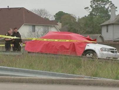 Manhunt on for gunman who killed girl outside Houston Walmart
