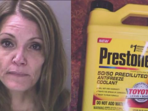 Woman accused of trying to poison husband with antifreeze in drinks