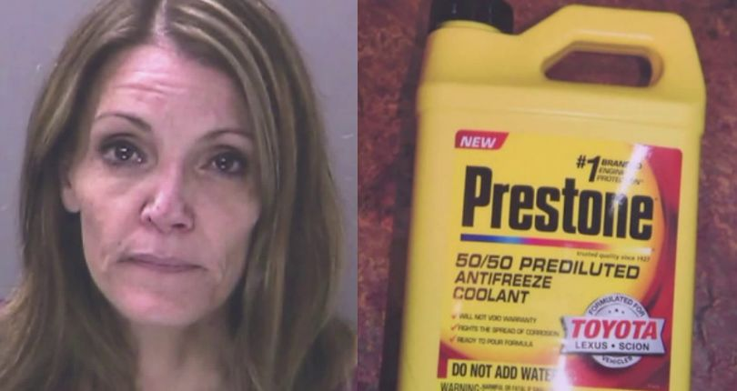 Long Island woman accused of trying to poison husband by pouring antifreeze into his drinks