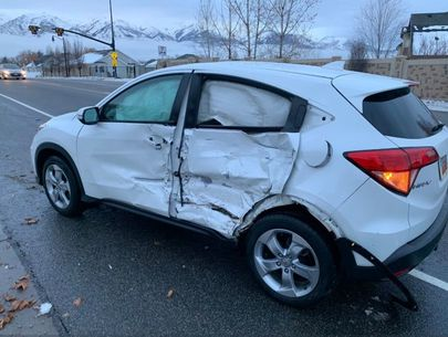 Blindfolded driver who crashed was participating in 'Bird Box Challenge': police