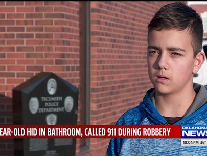 13-year-old foils armed robbery at Oklahoma store
