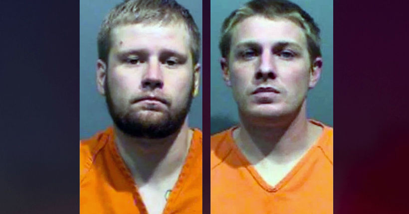 2 men sentenced to prison in 'brutal' bar assault on man holding 4-year-old daughter
