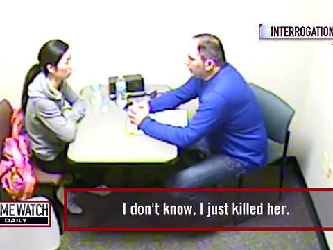 Interrogation video: Cold-hearted mom confesses to tot's death