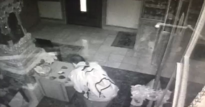 Video shows man stealing $1K from Buddhist temple donation box; suspect arrested