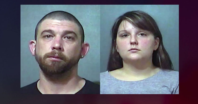 Indiana couple charged after toddler's tongue is split, possibly with scissors
