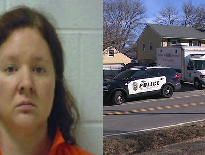 Mom arrested after leaving kids inside home with dead father: sources