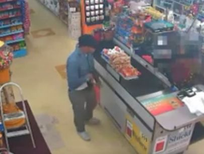 California store clerk talks armed man out of robbing market