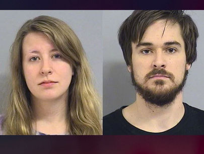 Oklahoma couple arrested after 12-day-old son found with broken femur