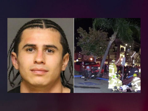 DUI suspect arrested after truck hits 9 pedestrians in downtown Fullerton