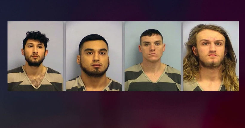 4 men charged in beating of gay couple leaving a bar in Austin