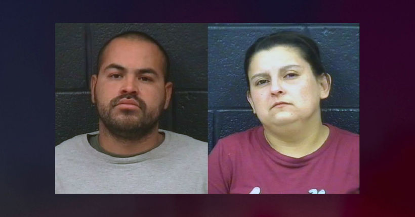 Texas parents arrested after 3-year-old daughter's body found in container of acid