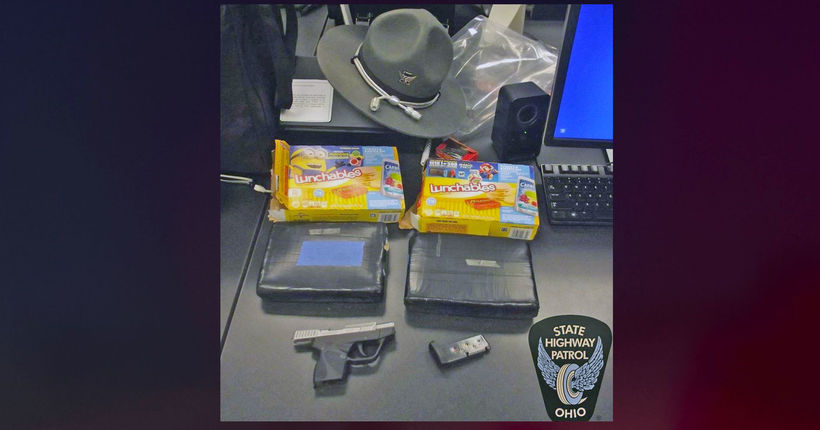 Troopers find 4 pounds of cocaine hidden in Lunchables boxes in traffic stop