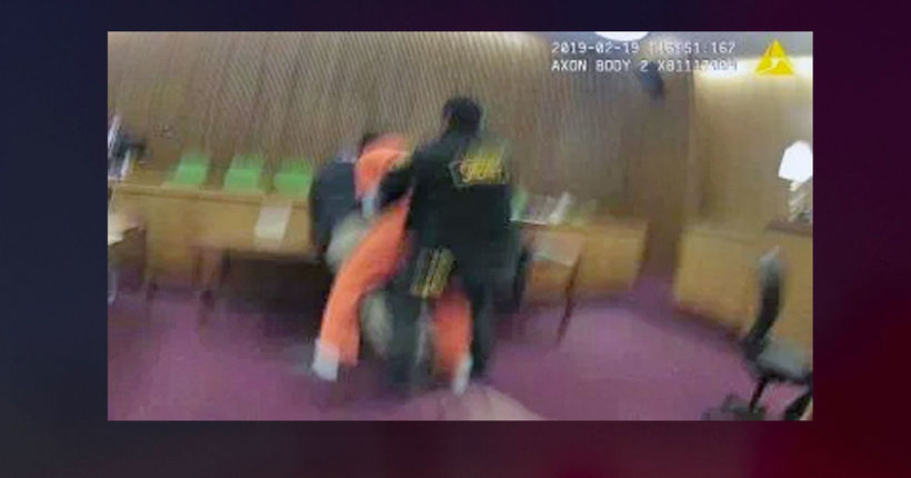 Defendant caught on video punching attorney found not guilty