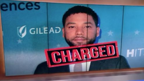 'Empire' actor Jussie Smollett turns himself in, faces felony charge for alleged hate crime hoax