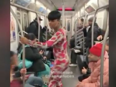 Shocking case of sexual harassment on subway exposed as social experiment