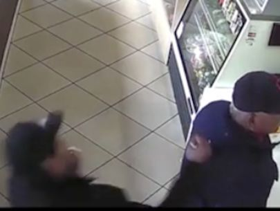 Video released in vicious attack on senior citizen at Maywood donut shop