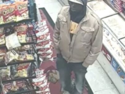 VIDEO: Police search for man caught grabbing money from woman's hand