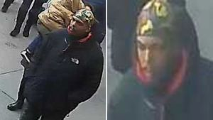 Police look for man who punched, slashed a man at Queens subway station