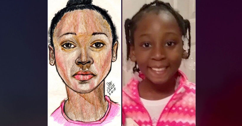 2 'persons of interest' detained in death of 9-year-old girl found dead in duffel bag