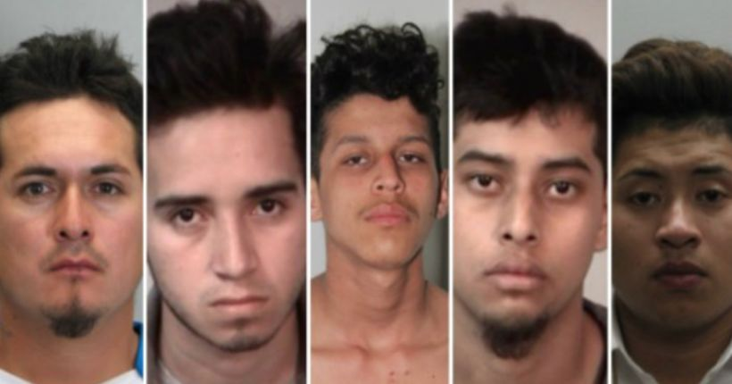 Teen stabbed about 100 times and set on fire in MS-13 murder, police say